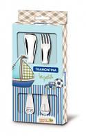Детский набор столовых приборов Tramontina Baby Le Petit Blue 66973/010 2 пр