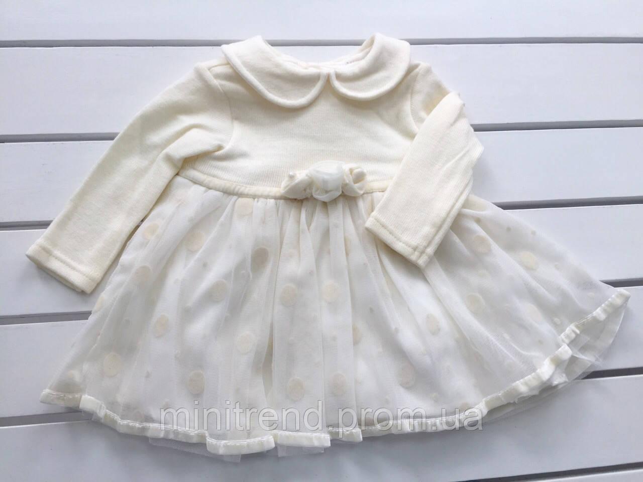 Платье на девочку 9 месяцев купить