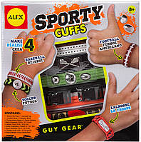 Набор для создания спортивных браслетов для парней, Alex
