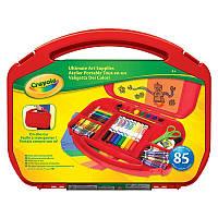 Набор для творчества в удобном красном чемоданчике, Crayola