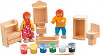 Набор для творчества Ванная комната, Мир деревянных игрушек