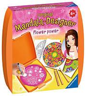 Набор для творчества Мини Мандала: Сила цветов, Ravensburger