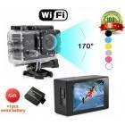 Автомобильная экшн камера SJ6000 онлайн передача  wi-fi FULL HD 1080P