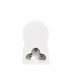 Светодиодный линейный светильник Т5 900мм теплый белый 3200К, фото 4