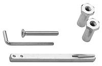 Комплект удлинения для защитной фурнитуры R4 (71-85 мм Rostex