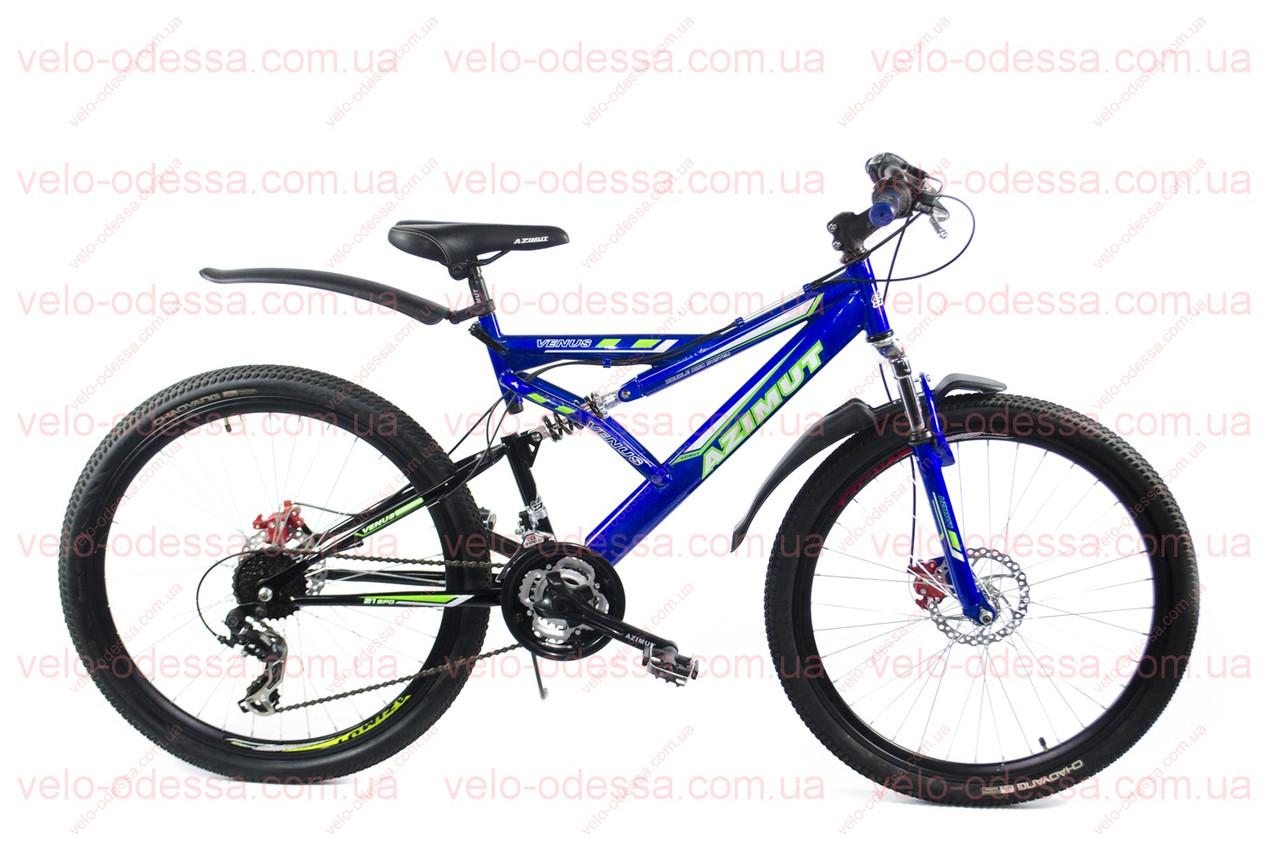 """Горный велосипед    AZIMUT Venus GD 26"""" собр"""