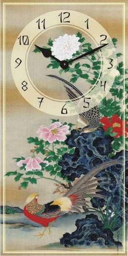 "Часы настенные ""Фен-шуй-2"" (250х500мм) [Стекло, Открытые]"