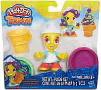 Набор пластилина Мороженщица, серия Town, Play-Doh