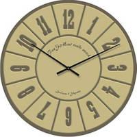 """Часы настенные большие """"Арабские цифры классика"""" (500мм) [Стекло]"""