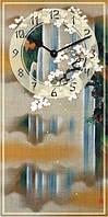 "Часы настенные ""Фен-шуй-4"" (250х500мм) [Стекло, Открытые]"