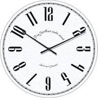 """Часы настенные большие """"Арабские цифры"""" (500мм) [Стекло]"""