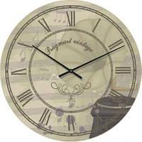 """Часы настенные под ретро """"Прованс - Римские цифры"""" (500мм) [Стекло, Открытые]"""