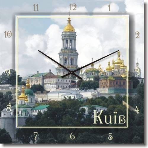 """Часы настенные большие """"Киев"""" (500мм) [Стекло, Открытые]"""