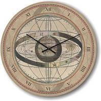 """Часы настенные большого размера """"Астрология эпохи Возрождения"""" (450мм) [Стекло]"""