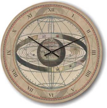 """Часы настенные большого размера """"Астрология эпохи Возрождения"""" (450мм) [Стекло, Открытые]"""