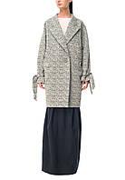 Пальто женское, серое, осень-зима T-BRITT №3