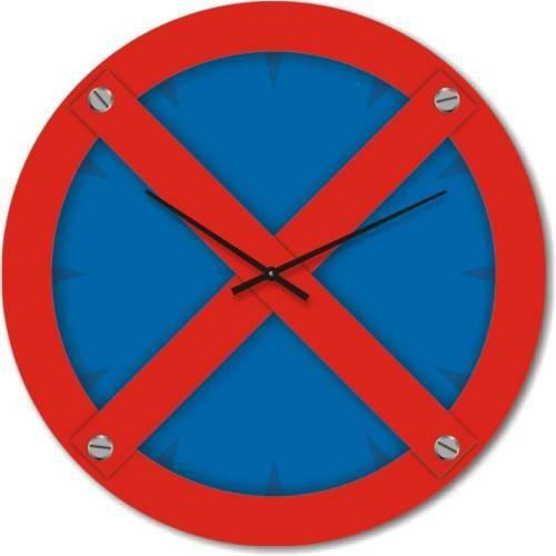 """Часы настенные """"Остановка запрещена"""" (450мм) [Стекло, Открытые]"""