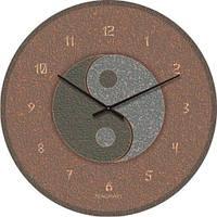 """Часы настенные """"Инь-Янь"""" (500мм) [Стекло, Открытые]"""