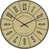 """Часы настенные """"Арабские цифры классика"""" (300мм) [Стекло, Открытые]"""