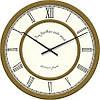 """Часы настенные """"Римские цифры 2"""" (300мм) [Стекло, Открытые]"""
