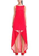 Платье  женское, летнее , красное P-OAZIS1-7 S-34