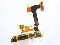 Шлейф для Sony Ericsson U1 Satio-Idou с кнопкой включения. камерой. динамиком