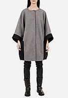 Пальто женское,темно-серое,осень-зима T-DANIE1-1 XS-32