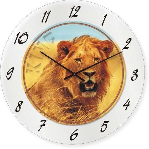 "Часы настенные ""KING"" (300мм) [Стекло, Открытые]"