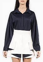 Платье  женское, синий/молочный цвет, мультисезон P-MIDNIGHT №3
