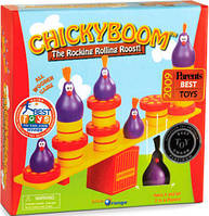 ChickyBoom (ЧикиБум) из дерева. Настольная игра-балансир, Blue Orange