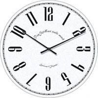 """Настенные часы в стиле прованс """"Арабские цифры"""" (300мм) [Стекло, Открытые]"""