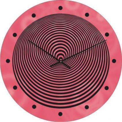 """Большие настенные часы """"Спираль"""" (450мм) [Стекло, Открытые]"""