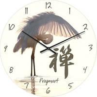 """Часы настенные """"Фен-шуй-6"""" (300мм) [Стекло, Открытые]"""