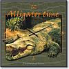 """Часы настенные """"Аллигатор"""" (450мм) [Стекло, Открытые]"""