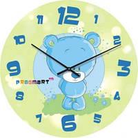 """Часы настенные детские """"Мишутка"""" (350мм) [Стекло, Открытые]"""