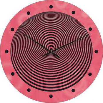 """Часы настенные """"Спираль"""" (300мм) [Стекло, Открытые]"""