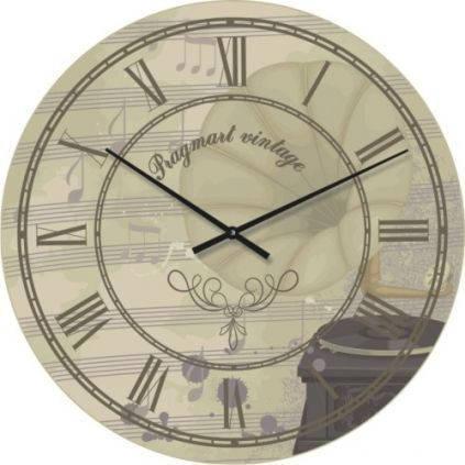 """Часы настенные """"Прованс - Римские цифры"""" (300мм) [Стекло, Открытые]"""
