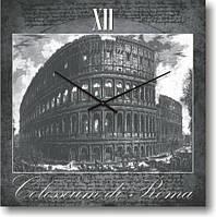 """Часы настенные """"Коллизей в Риме"""" (300мм) [Стекло, Открытые]"""