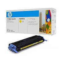 Заправка картриджа HP Color LaserJet 1600/ 2600/ 2605 series, CLJ CM1015/ CM1017 Yellow (Q6002A)