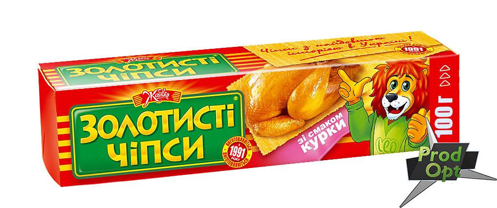 """Чіпси """"Золотисті"""" курка 100 г"""