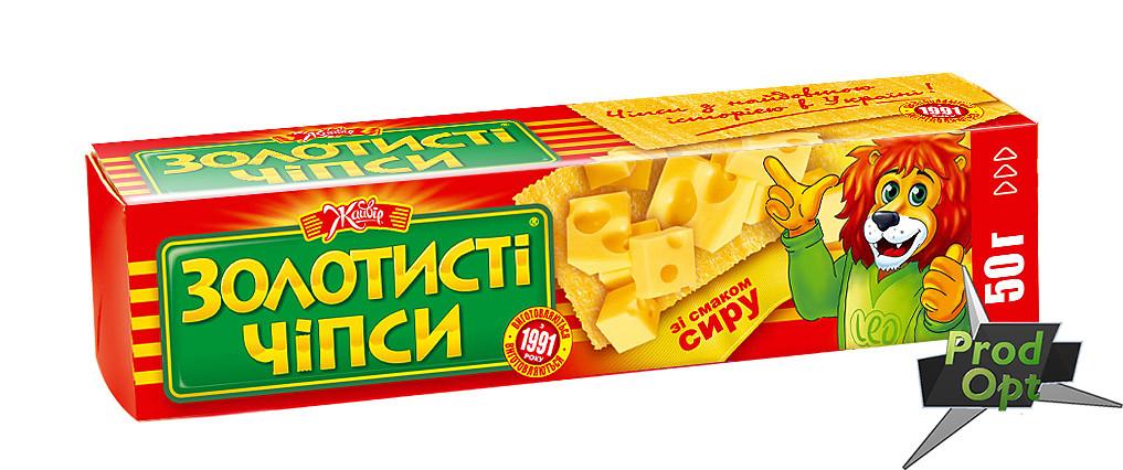 """Чіпси """"Золотисті"""" сир 50 г"""