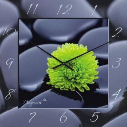 """Большие настенные часы """"Контраст"""" (500мм) [Стекло, Открытые]"""