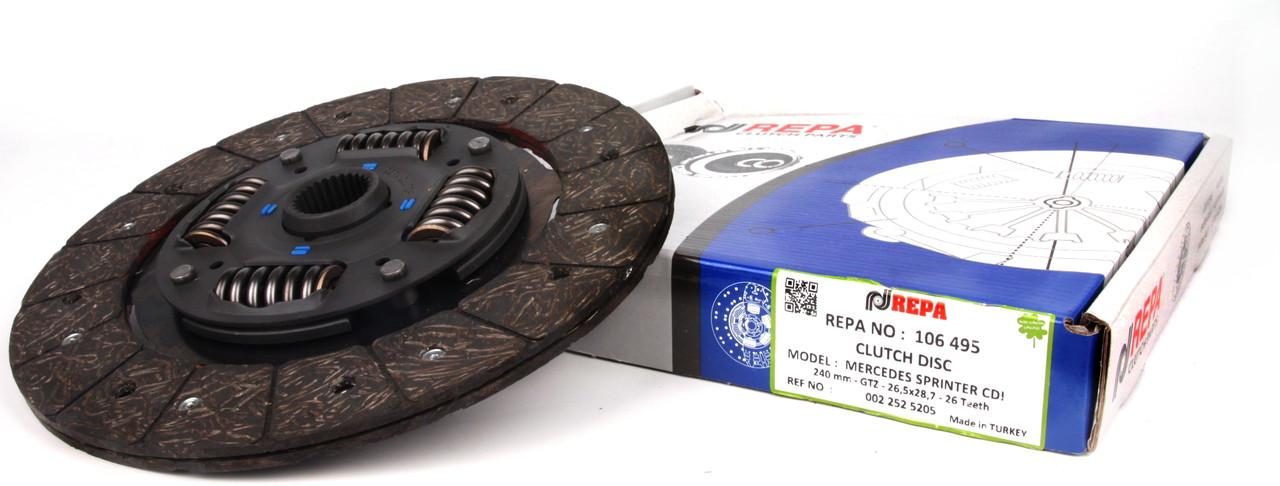 Диск сцепления MB Sprinter CDI -06 Repa