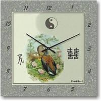"""Часы настенные """"Павлин"""" (450мм) [Стекло, Открытые]"""