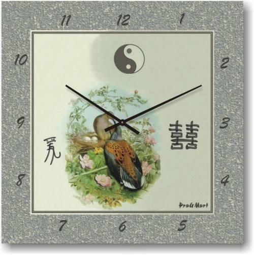 """Часы настенные """"Павлин"""" (350мм) [Стекло, Открытые]"""