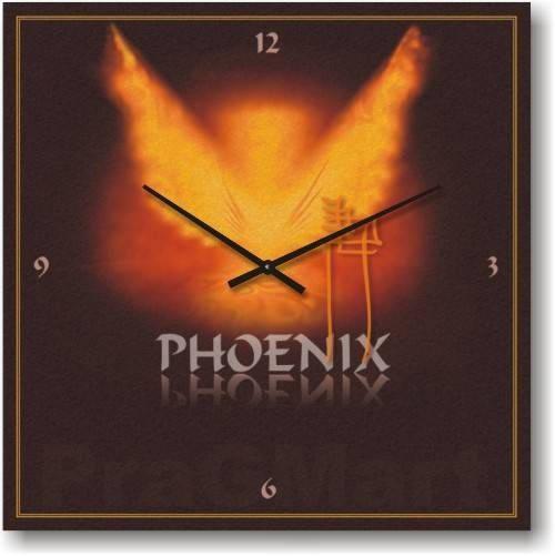 """Часы настенные """"Феникс"""" (300мм) [Стекло, Открытые]"""