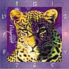 """Часы настенные """"Леопард"""" (450мм) [Стекло, Открытые]"""