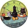 """Часы настенные большого размера """"Натюрморт - Винсент Ван Гог"""" (450мм) [Стекло, Открытые]"""
