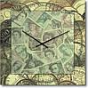 """Часы настенные """"Money-money"""" (300мм) [Стекло, Открытые]"""