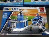 Конструктор Полицей участок аналог лего сити Lego City 355 д